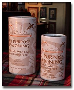 Carls Seasoning Packages